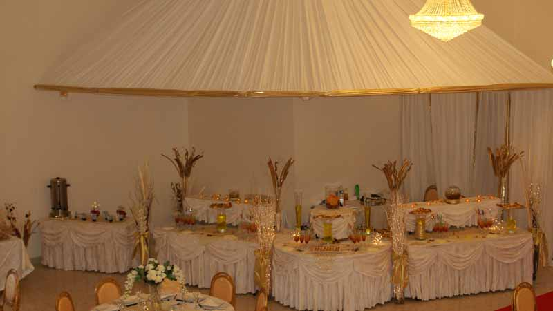 Decoration Trone Mariage