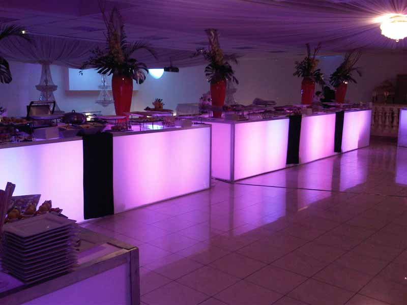 Mariage Theme Lumiere Decoration Mariage Lumineux Tables Lumineuses