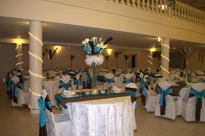 d coration mariage turquoise mariage chocolat turquoise. Black Bedroom Furniture Sets. Home Design Ideas